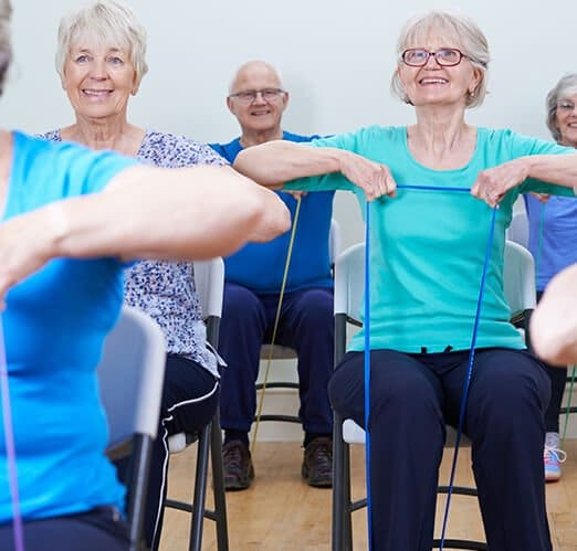 Care home activities - exercise